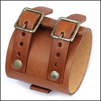 イメージ:JD Cuff Bracelet / gbb custom leather